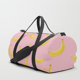 Banana in pink Duffle Bag