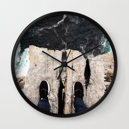 Natures Diving Board Wall Clock
