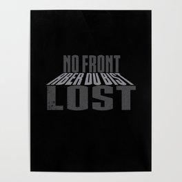 No Front Aber Du Bist Lost Galaxy Poster