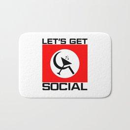 Let's Get Social Bath Mat