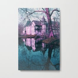 Magical Castell Metal Print