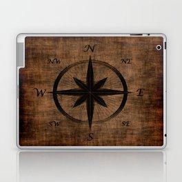 Nostalgic Old Compass Rose Laptop & iPad Skin
