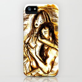 nude - passion iPhone Case