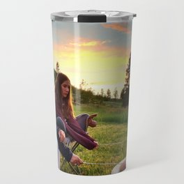 Wyoming Mountain S'mores Travel Mug