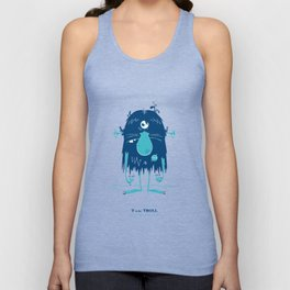 T is for Troll Unisex Tank Top