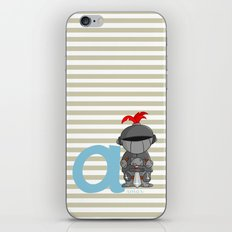 a for armor iPhone & iPod Skin