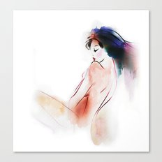 naked Canvas Print