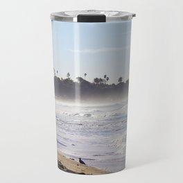 Lifeguard Tower on the Beach Travel Mug