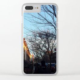 Sunset Park, Brooklyn Clear iPhone Case