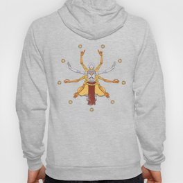 Vitruvian Omnic - color version Hoody