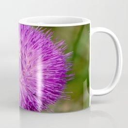 Nodding Thistle Close-Up Coffee Mug