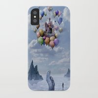 castle iPhone & iPod Cases featuring Sweet Castle by teddynash