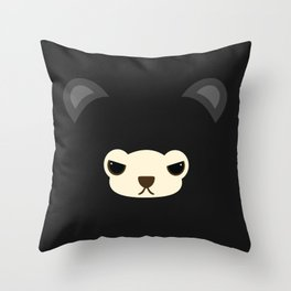 DORI is mad !  Throw Pillow