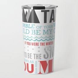 All I Want Is You - Pink Travel Mug