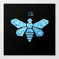 Chemical Blue Canvas Print