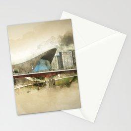 Zaha Hadid's 'The Wave' Olympic London Stationery Cards
