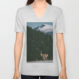 Hello spring! - Landscape and Nature Photography Unisex V-Neck