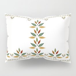 """Tree of Polka Dots Leaves"" Pillow Sham"