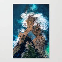 North Curl Curl Canvas Print