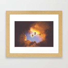Bliss In The Skies Framed Art Print