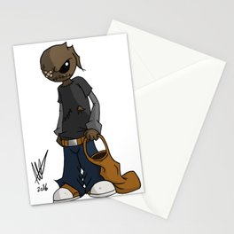 Trick 'r Pete Stationery Cards