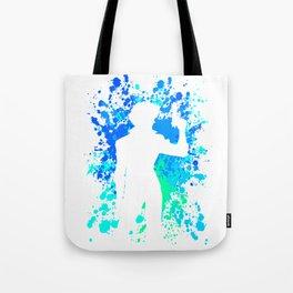 Anime Paint Splater Inspired Shirt Tote Bag