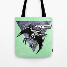 Pterodactyl Fossil Tote Bag