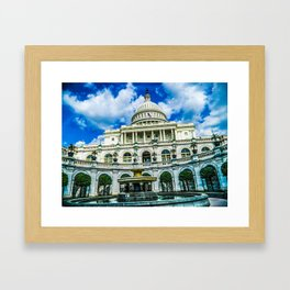 District of Columbia Framed Art Print