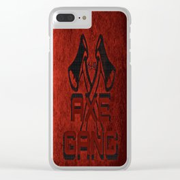 Axe Gang Clear iPhone Case