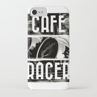 cafe racer iPhone & iPod Cases featuring Cafe Racer by Rainer Steinke
