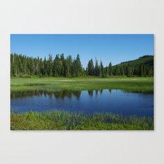 Paradise Meadows Pond Canvas Print