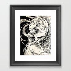 Moon princess Serenity -  Sailor Moon  Framed Art Print