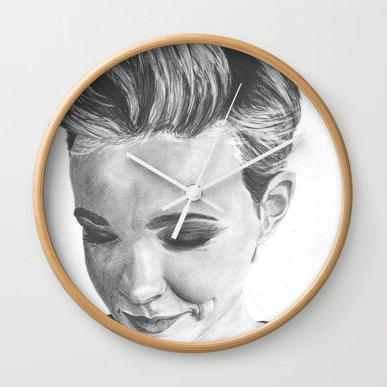 Carey Mulligan Wall Clock