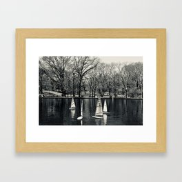 Kerbs Boathouse NYC Framed Art Print