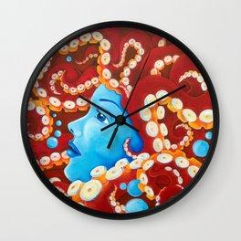 Tentacle Girl Wall Clock