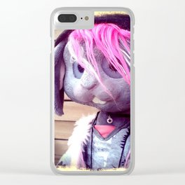 Nina the bunny Clear iPhone Case