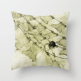 Salt of the earth Throw Pillow