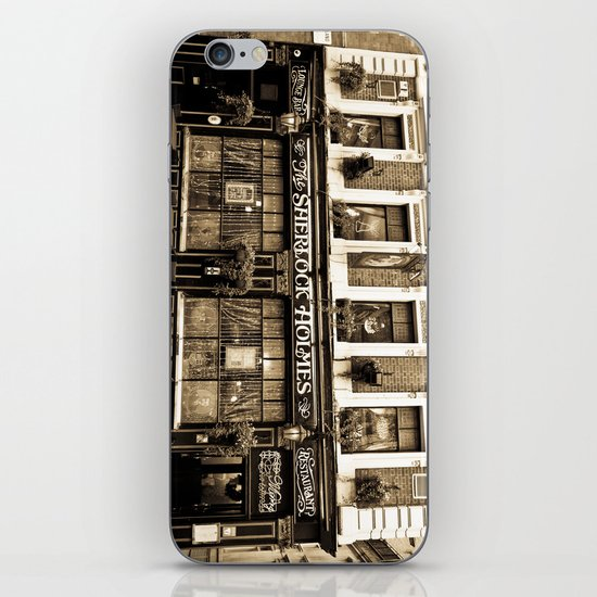 The Sherlock Holmes Pub London iPhone Skin