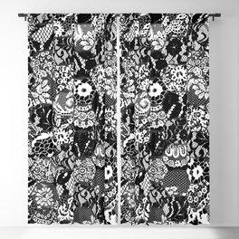 gothic lace Blackout Curtain
