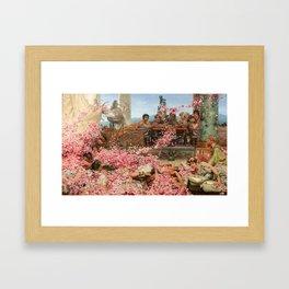 The Roses of Heliogabalus Framed Art Print