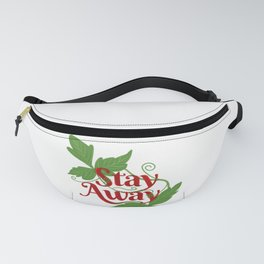 Poison Ivy 'Stay Away' Fanny Pack