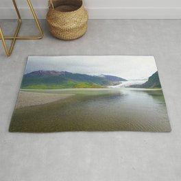 Mendenhall Glacier Juneau Alaska Rug