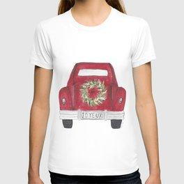 Joyeux Red Car T-shirt