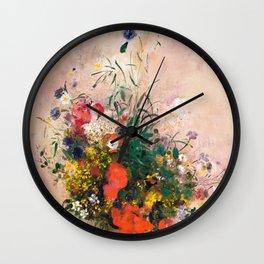 Summer has too short a lease Wall Clock