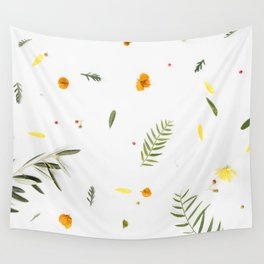 Foraged Florals Wall Tapestry