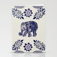 boho Stationery Cards featuring Elephant Pink by rskinner1122