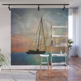 Sail Away With Me Wall Mural