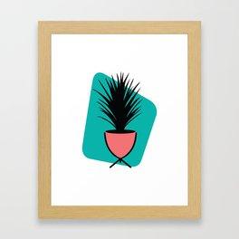 Grass Plant Framed Art Print