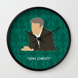 The Lying Detective - Greg Lestrade Wall Clock