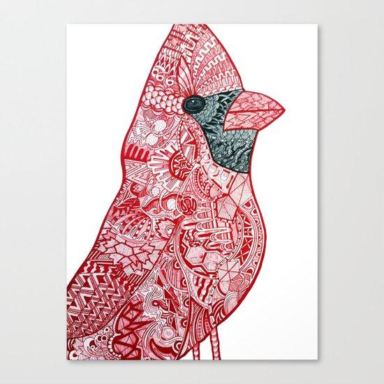 Cardinal Cardinal Canvas Print